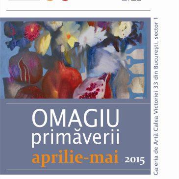 """""""Omagiu primaverii"""" la Galeria Calea Victoriei 33"""