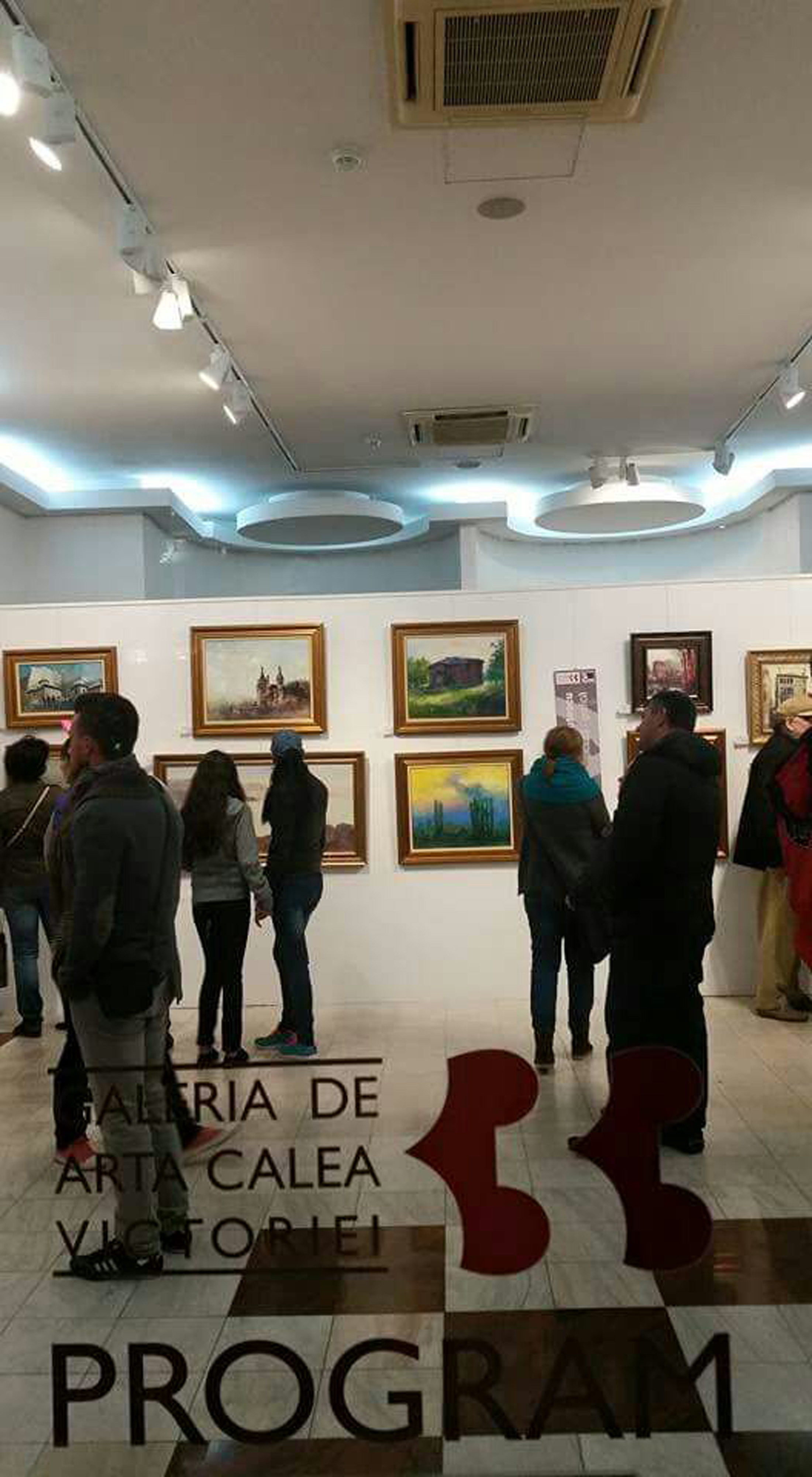 Galeria de Arta Calea Victoriei 33 - inside