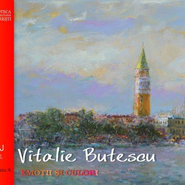 Emoții și culori -expoziție de pictură semnată de Vitalie Butescu la Biblioteca Metropolitană București